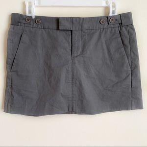 Helmut Lang Skirt Mini Pockets Short Gray Size 2